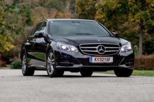 Mercedes Benz E-Klasse Hochzeitsdeko