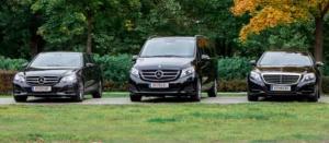 Mercedes E-Klasse, Mercedes V-Klasse, Mercedes S-Klasse